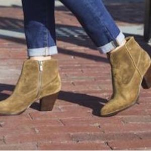 Frye - Renee Short Seam Cowboy Bootie - SZ 11 NWOB